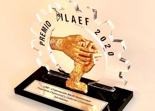 CMI obtiene Premio ILAEF 2020 por su trayectoria